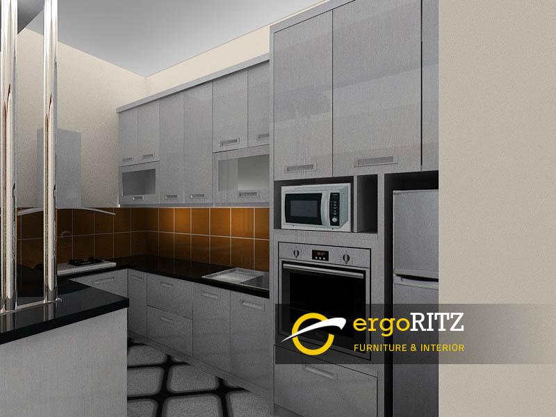 3d Desain Kitchen Set 4 Ergoritz Furniture