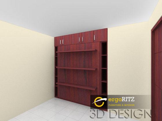 Desain 3d Folding Bed 1
