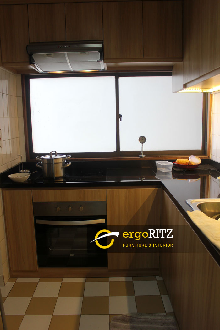 Kitchen Set Apartemen Sultan 1 Ergoritz Furniture