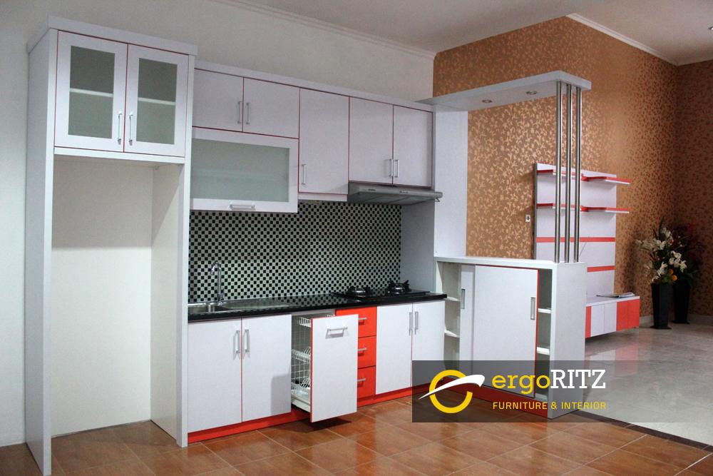 Kitchen Set Hpl Tampak Rak Piring Ergoritz Furniture
