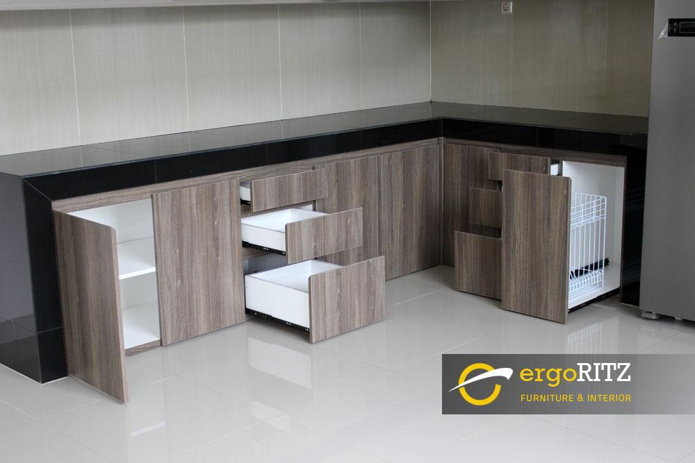 Kitchen Set Perumahan Kodamar Jakarta Utara Ergoritz Furniture